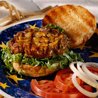 Grilled Turkey Burgers
