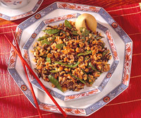 Oriental Speckled Rice Salad