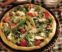 Super Salad Pizza