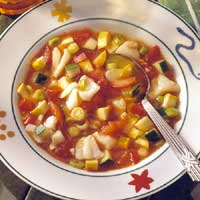 Fish and Vegetable Gazpacho