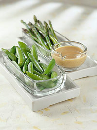 Image of Asparagus With Raspberry Dijon Dipping Sauce, Better Homes and Garden