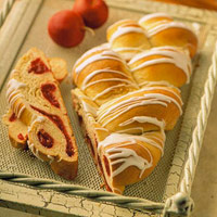 Spiced Apple Braid (Bread Machine)