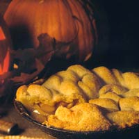 Deep-Dish Apple Pie with Cheddar Cheese Crust