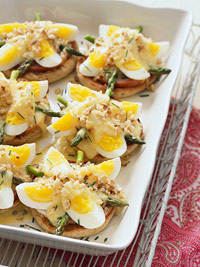 Eggs Benedict with Easy Orange Hollandaise