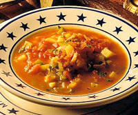 Spicy Manhattan Clam Chowder