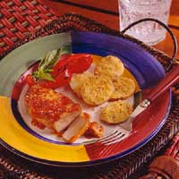 Pork Chops with Chili-Apricot Glaze