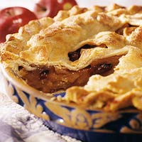 Image of Autumn Apple Pie, Better Homes and Garden