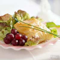 Salad with Pastry Packages