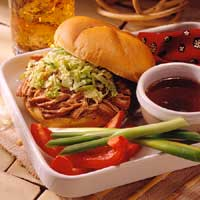 Five Spice Pork Sandwiches Au Jus