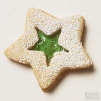 Linzer Star Cookies