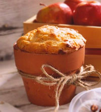 Cheese and Apple Loaves