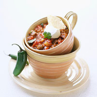 Chili With Double-Bean Toss