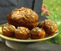 Image of Applesauce-rhubarb Muffins, Better Homes and Garden