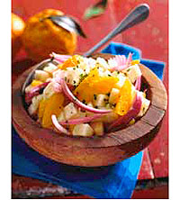Jicama and Orange Salad