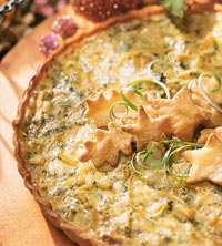 Gorgonzola-Onion Tart