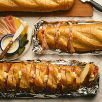 Image of Accordion Sandwiches, Better Homes and Garden
