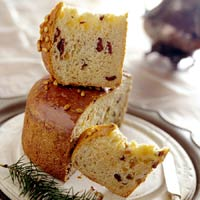 Festive Fruit-and-Nut Panettone