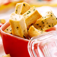 Herbed Crouton Sticks
