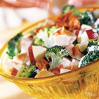 Chicken and Broccoli with Creamy Dressing