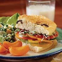Italian Vegetable Sandwich