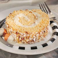 Image of Apricot Hazelnut Cake Roll, Better Homes and Garden
