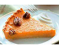 Maple-Butternut Tart with Glazed Pecans