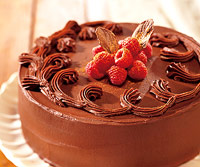 Raspberry-Chocolate Cake