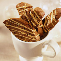 Mocha Biscotti