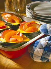 Image of Acorn Squash With Apricot Glaze, Better Homes and Garden