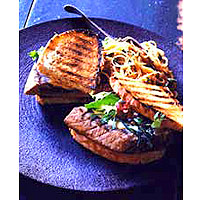Image of Asian Grilled Tuna Sandwich, Ladies' Home Journal