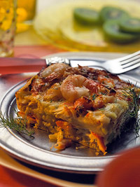 Brunch Seafood Strata (24 servings)
