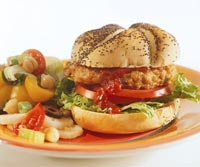 Cajun Chicken Burgers