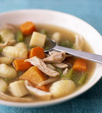 Chicken Stew with Potato Dumplings