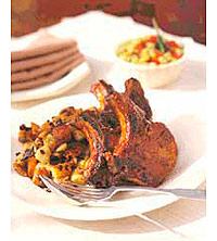 Southern-Style Barbecue Pork Chops