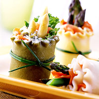 Image of Asparagus Pasta Spring Rolls, Better Homes and Garden
