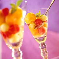 Sorbet Melon Parfaits