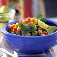Three-Cheers Bean Salad