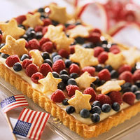 Red, White, and Blue Tart