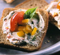 Chevre and Tomato Spread