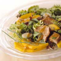 Pork and Mango Salad