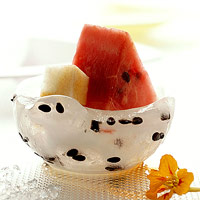 Iced Watermelon with Jicama