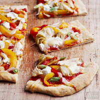 California-Style Chicken Pizza