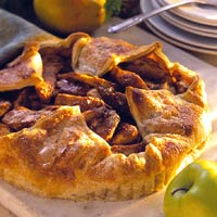 Rustic Apple and Pear Tart