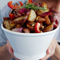 Roasted Rosemary Potato Salad