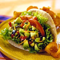 Image of Avocado-vegetable Pitas, Better Homes and Garden