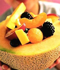 Fruit Salad Bowl Turnover