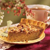 Cornmeal Sweet Potato Pie