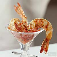 Grilled-Shrimp Cocktail