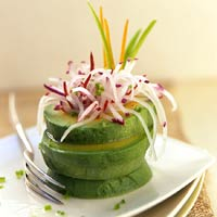 "Image of Avocado Rings With Radish ""fireworks"", Better Homes and Garden"