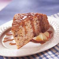 Image of Apple Dapple Cake, Better Homes and Garden